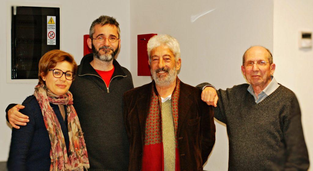 """Gianfranco Cabiddu ospite al Piccolo Cineclub Tirreno per la presentazione del film """"La stoffa dei sogni"""" - 7 marzo 2017"""