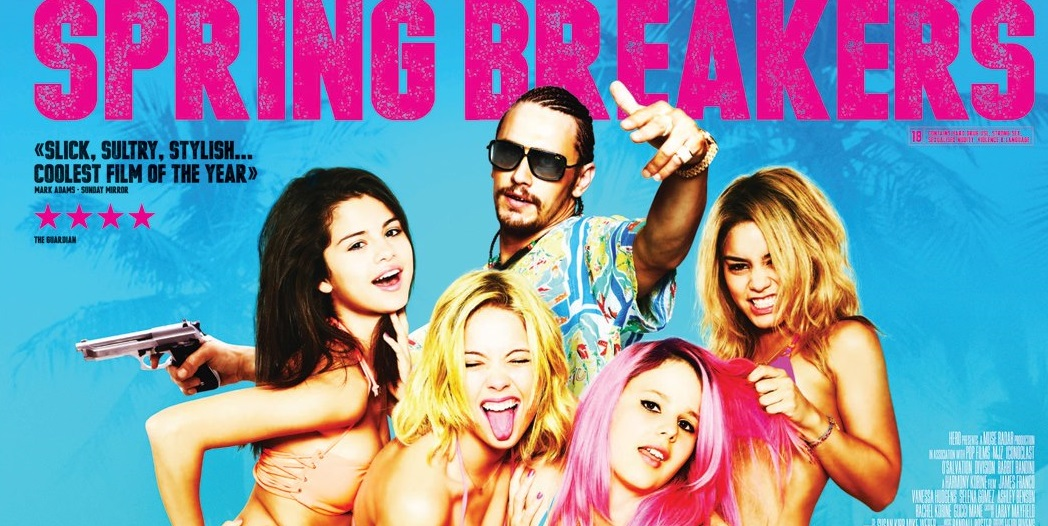 Spring-Breakers-UK-Quad-Poster-Blue ritaglio