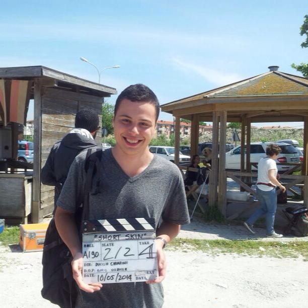 "L'attore Nicola Nocchi ""Short skin"" - 16 ottobre 2015"
